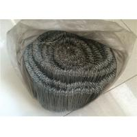 Best Bar Tie Galvanised Iron Wire With Double Loop Tie , 16 Gauge 1000pcs Per Roll wholesale