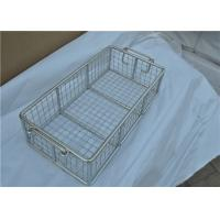Best Rugged Stainless Steel Wire Mesh Basket With Moved Handle For Fruit wholesale