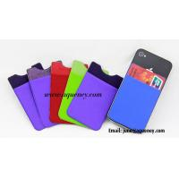 Best New Style Lycra Smart wallet with 3M Sticker wholesale