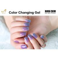 Buy cheap Multi Colored Mood Changing Nail Polish Gel Heat Changing Nail Varnish 2 Minute from wholesalers