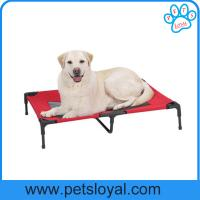 elevated dog beds Oxford Fabric Outdoor Dog Bed Elevated Pet Cot Bed Factory
