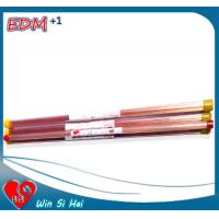 Quality 0.3mm x 400mm EDM Electrode Tube , Brass / Copper Tube for Drill Machine wholesale