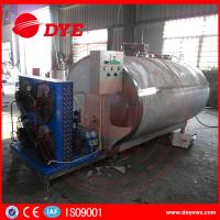Cheap Sus304 1000 Liter Milk Cooling Tank Refrigeration Compressor ISO9001 for sale
