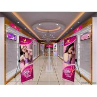 Cheap Customized Tripod X Stand Banners Trade Show Display 1440*1440 Dpi for sale