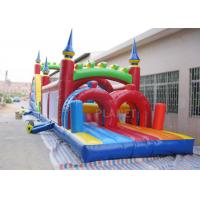 Best Funny Sport Games Adult Inflatable Obstacle Course Challenge Bounce House wholesale