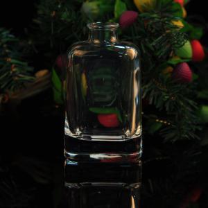 Best 200ml Square Glass Perfume Bottles / Aroma Glass Diffuser Bottles wholesale