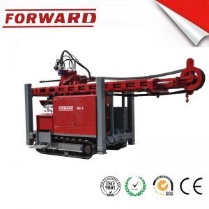 Best Crawler Mounted Hydraulic Mud / Water Borehole Drilling Rig 420 Mm Maximum Diameter Drilling Hole wholesale
