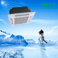 China Chilled water 4 way ceiling concealed cassette type fan coil units-1400CFM 4 TUBE on sale