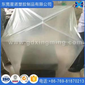 """Best 44""""x 36""""x 96""""Transparent PE Plastic Pallet Cover Fits for Pallet wholesale"""