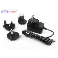 Best FCC Wall Mounted Charger , AC To DC 12v Power Supply With Interchangeable AC Plugs wholesale