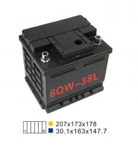 Best SMF 330A 12V Lead Acid Car Battery 12V36AH 6 Qw 38L Car Starter Battery wholesale
