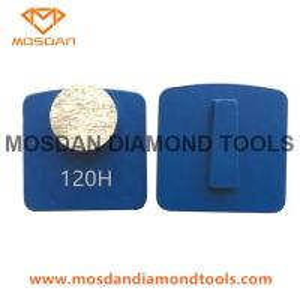 Best Hiperfloor 1 Round Diamond Grinding Segment for Scanmaskin wholesale