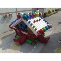 Cheap Huge Eye - Catching Advertising Inflatable Castle Bouncer For Childrens Party for sale