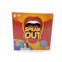 Best Interest Training Speak Out Party Game , Speak Out Game Family Version wholesale