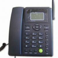 Best GSM Fixed Wireless Phone, Supports GSM 900/1,800MHz, Speed Dial, Call Register and Phone Book wholesale