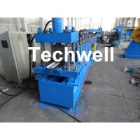 Best Automatic Steel Guide Rail Cold Roll Forming Machine for Making Security Door Guide Tracks wholesale