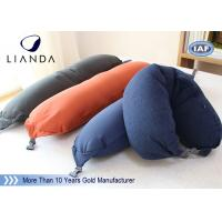 Best Soft Plush Microbeads Memory Foam Pillows With 100% Polyester Fleece Material , CE SGS wholesale