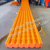 Best plastic PVC anti-corrosion, water and fire proof glazed tiles wholesale