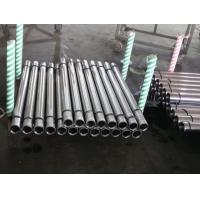 China Metal Rod Hollow Piston Rod For Hydraulic Machine , Steel Pipe Bar on sale