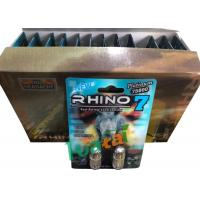 Best 3D Material Rhino7 Double Herbal Men Sex Pills For Long Lasting Erections wholesale
