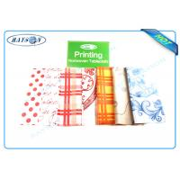 Best Full Range Color Customized Printing Patern PP Non Woven Fabric for Tablecloth wholesale
