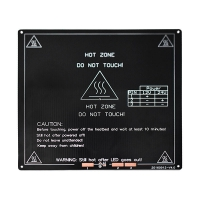 Buy cheap Aluminum Plate MK3 Substrate 3D Printer Heatbed 214mm*214mm*3mm from wholesalers