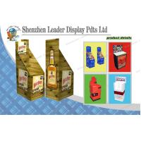 China Paper Standing Wine Corrugated Dump Bin Display for Retail Stores on sale