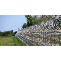Buy cheap Professional Concertina Razor Wire Fencing For Parking Places / Railway Stations from wholesalers