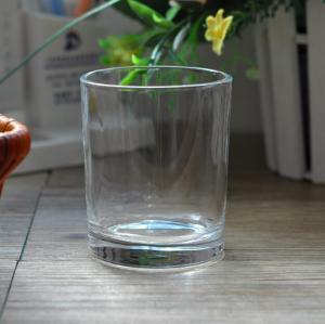 Best 7oz Transparent replacement votive glass candle holders Machine Press wholesale