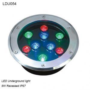 Cheap Europe good price modern exterior IP67 RGB LED Undergroud light for sale