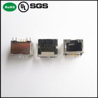 Best modular jack rj45 /8P8C RJ45 PCB Jack with or without Shield and LED wholesale