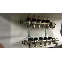 Best House  Stainless Steel Water Manifold Sliver Color 5 Loop Radiant wholesale