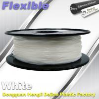Best Red Flexible 3d Printer Filament materials in 3d printing 1.75 / 3.0 mm 0.8KG / Roll wholesale