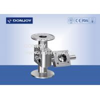 Buy cheap Forging Body Sanitary Diaphragm Valve , Mini type multi-port diaphragm valve body from wholesalers