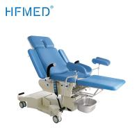 Best Electro Hydraulic Gynecology Examination Table , Hospital Obstetric Delivery Bed With Big Castors wholesale
