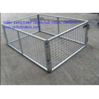 Best standard dimension and custom built box trailer cages wholesale