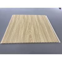 Best 12 Inch × 6mm High Strength PVC Garage Wall Panels With Golden Lamination wholesale