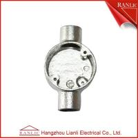Best 3/4 inch 1 inch White 20mm Electrical Conduit Box Hot Dip Galvanized , Professtional OEM wholesale