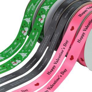 Best Custom Thermal Transfer Print Polyester Personalised Grosgrain Ribbon 3 wholesale