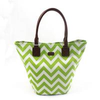 Buy cheap Women's Fashion Striped Canvas Handbags For Shopping Can Be Customized from wholesalers
