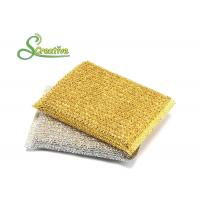 Best Polyester Non Scratch Scourer Pads With Plastic Thread For Bathroom Cleaning wholesale