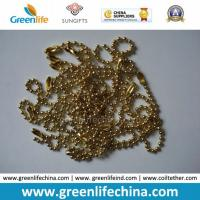 Best Fashionable Hot Selling Shinny Golden Metal Snake Ball Chain wholesale