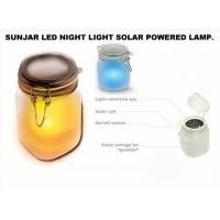 Sun light Jar Frosted glass is an ingenious portable solar powered light. It looks like a storage jar