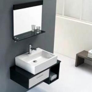 Best cabinet bathroom ceramic square above basin antique cabinet wash basin wholesale