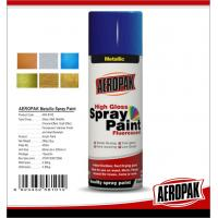 Best Fast Dry 400ml Aerosol Spray Paints /  High Coverage Black Spray Paint For Cars wholesale
