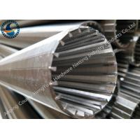 Buy cheap Anti - Corrosion Wedge Wire Mesh Pipes For Liquid / Soild Filtration from wholesalers