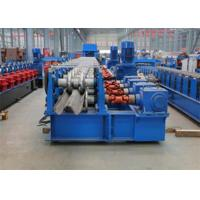 Best Highway Guardrail Roll Forming MachineElectrical Automatic Control 0 - 15000 mm / min Forming Speed wholesale