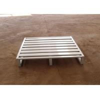 Best 2 Way Entry Metal Storage Pallets Heavy Duty Stackable Flat Iron Pallet wholesale