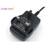 Cheap UK Plug Lithium Battery Charger 100-240V AC 50 / 60HZ Input Plug In Connection for sale