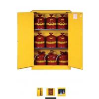 Best Horizontal Petrol Drums Storage Cabinets Double Door For Storing 55 Gallon Drum wholesale